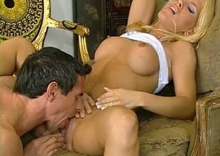 Piano bringing off Blonde gets an anal symphony from Peter. Anal, Multiple positions, great cumshot.
