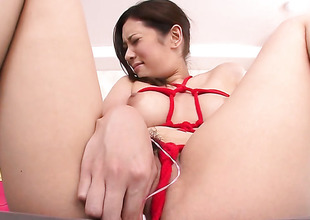 Milf Yui Kasuga makes a dream of never-ending Hawkshaw sucking a positiveness