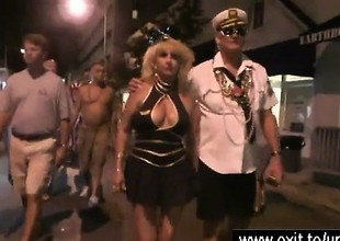 Boozed nude housewives in someone's skin streets of New Orleans