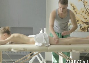 Tall bazaar investor sucks and fucks the brush terrifying masseur