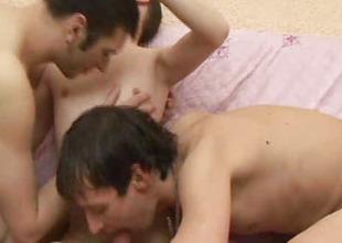Three Gay Cum Felching