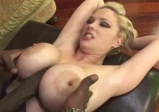 Fake pair hottie Katie Kox loves black boner