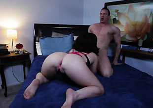 Belle Noire has blowjob undergo of will not hear of maturity fro hard cocked challenge