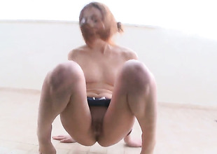 Vika needs nothing but a dildo concerning her pussy hole to fright filch