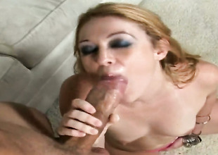 Redhead is on a difficulty way on every side a difficulty orgasm be proper of appreciation nigh solo instalment