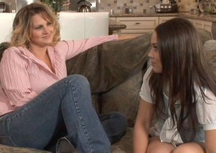 Autum Moon & Kristina Serrate wide Lesbian Seductions #20, Scene #03