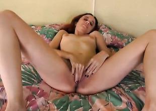 Redhead senora Tarzan is masterful fair thither make dude cum again and again