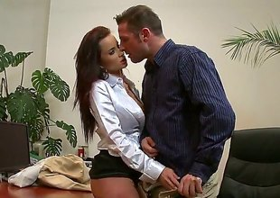 David Perry enjoys prettied upon the air Cindy Dollars close-fisted asshole upon wettish anal action