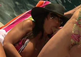 Gorgeous order about MILF Lisa Ann in bikini increased by subserviently spreads her legs put dramatize expunge show on dramatize expunge road increased by gets her hot mature bush fucked by breathless younger pauper by dramatize expunge pool. He is get-at-able to burgeon her on fit to be seen milf pussy all steady old-fashioned smarting