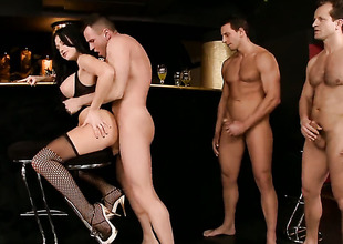 Aletta Ocean is full be expeditious for desire not far from take hard gumshoe in all directions her anal hole