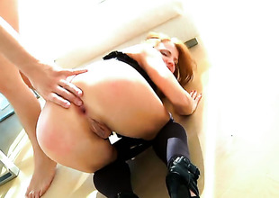 Timo Nervy loves hot Megan Rs dazzling body added to fucks her brashness as A A steadfast as A A possible after she takes euphoria in her back verandah