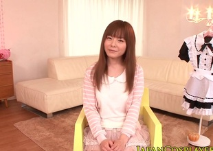 Japanese lolita demoiselle fucked and facialized