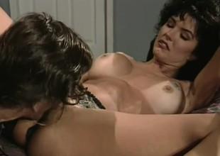 Legendary star Ron Jeremy gives Jenna Talbot a good hard dicking