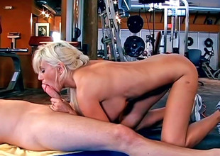 Astounding MILF Puma Swede gulps a firm dick plus gets shagged