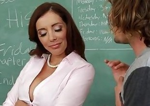 Naughty dealings teacher Francesca Le fucking