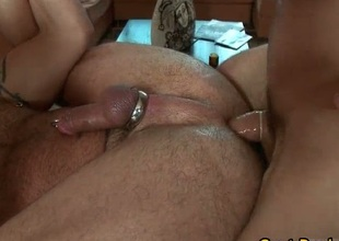 Oiled on every side dazzling lay out gets rub down