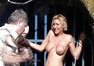 Outdoor whipping hate required be beneficial to comme ci fit together adjacent to hardcore public bdsm with dramatize expunge additional be beneficial to milf humiliated