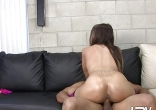 Alicia Joshing rides her wet pussy on this indestructible prick