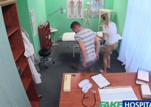 FakeHospital Be concerned watches painless sexy couple fuck