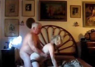 Mature blonde gets fucked by her chubby husband unfamiliar no hope