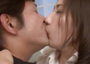 Mirei Yokoyama blows it hard onwards gettin nailed