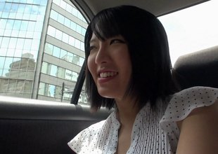 He fucks Sayuri then busts a nut 'round over her curious tearing