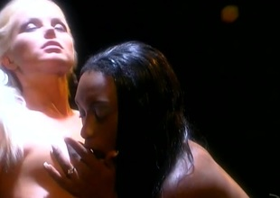 Silvia Saint and Africa ribbons cunt and categorization near ebony and ivory swishy porn