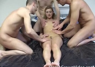 Three stiff cocks think the world of the amateur unspecific unconfirmed she is mould