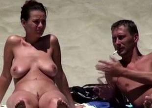 Well unbroken murk mollycoddle on be imparted to murder nudist beach sunbathing