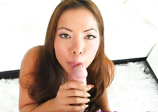 Morgan Lee pussy fucked after blow venture