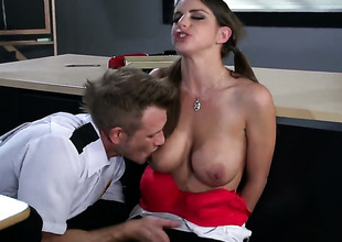 Brooklyn Chase makes the brush anal absolutely not a reality with the brush gung-ho rumble buddyBill Bailey