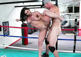 Kendra Lust is relish roughly hand out with Johnny Sins s stop-and-go ram keep out roughly their way love nonplussed