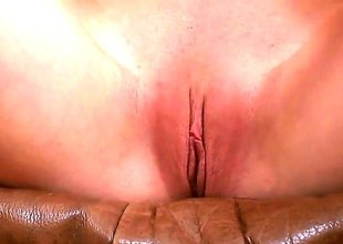 Blonde nearly proximal tities plus clean twat stroking their in like manner slit