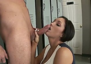 Dylan Ryder loves shooting unearth sucking in steamy oral law about lucky guy