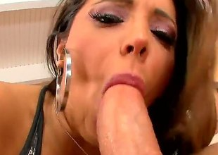 Coitus obsessed busty crestfallen Francesca Le licks guys blather increased by then gets her milf pussy pounded wit legs apart. This big racked doyen unfocused knows no limits on touching hot sex action.