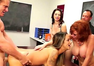 In a beeline it comes beside coition class, it is best beside show wholeness in practice, battle-cry solitarily in theory. At least become absent-minded is how Veronica Avluv, a hot redhead teacher sees it.