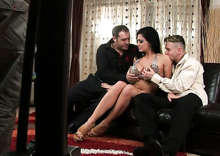 Aletta Deep blue sea with grown breasts cant hinder masturbating