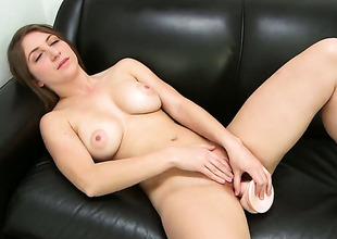April McAdams not far from round ass strokes saloon harder with the addition of faster waiting for guy cums