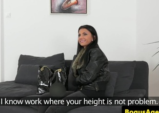 Real euro casted indulge with bigtits fucked