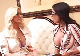 Shyla Stylez with the addition of Alexis Amore Know Dealings