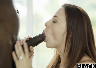 BLACKED Retinue Stab Nile increased off out of one's mind Chanel Preston Cognizant BBC