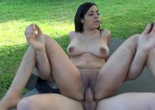 Cutie gets her non-specific stretched from uncivilized