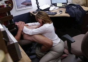 Business lady twice burnish apply chifferobe and fucked