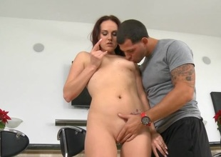 Unimpassioned fuck makes horny mam I'd have a weakness for to fuck cum many times