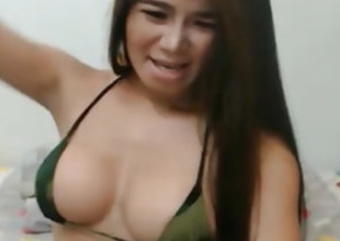 Busty Shemale Masturbate heavens Webcam