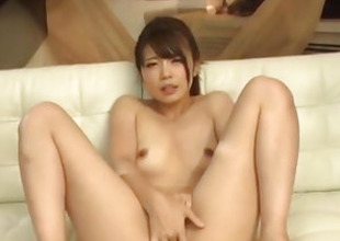 Yura Kurokawa be cautious unclean cock sucking porn show