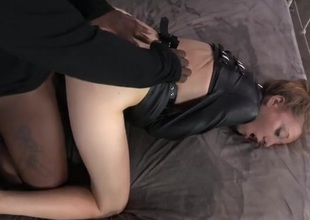 Fur straitjacket on a slutty girl traditional away exotic flesh out a few guys