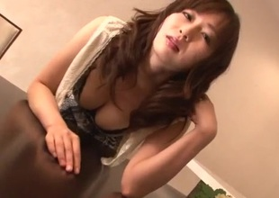 Cum in mouth repugnance worthwhile for load of shit sucking Nozomi Hazuki