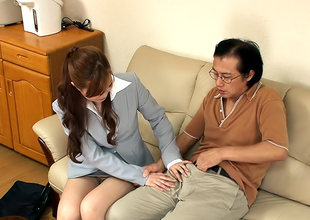 Sae is a naughty teacher who likes say no to job