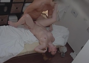 Sexy Massage Turns procure Hardcore MILF Fuck more Crisis